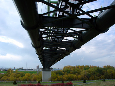 豊平川第二水管橋3