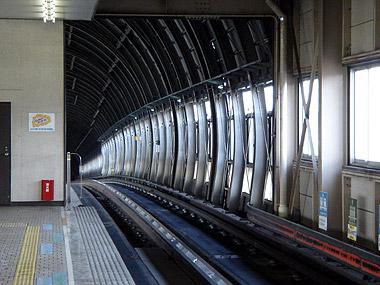 南平岸駅ホーム2