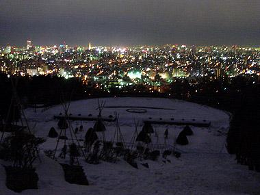 旭山記念公園夜景1