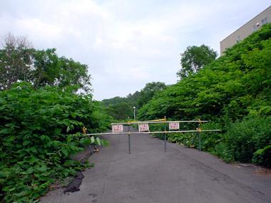 豊羽小中学校付近