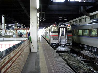 JR札幌駅ホーム