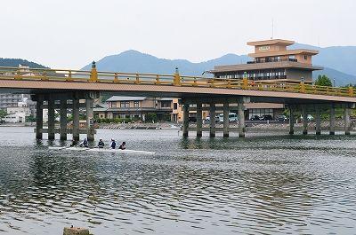 ④瀬田川 唐橋中央