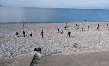千本浜海岸1