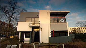リートフェルト設計のシュレーダー邸
