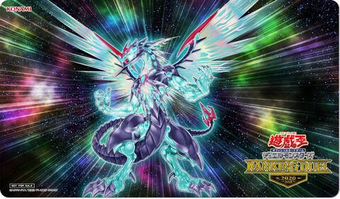 【遊戯王OCGフラゲ】ホロ加工が施された特別仕様の「銀河眼の光子竜」ラバー製デュエルフィールド!