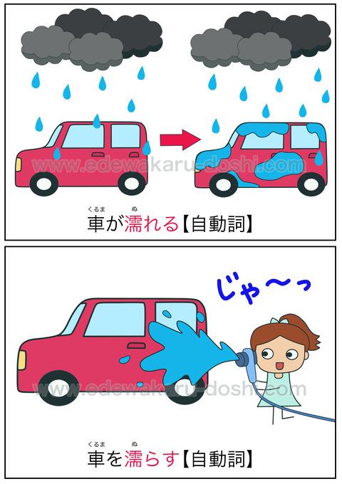 doshi濡れる・濡らす
