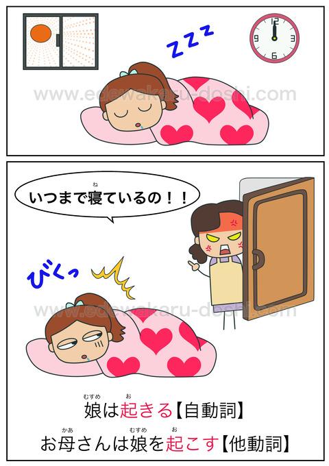 doshi起きる・起こす