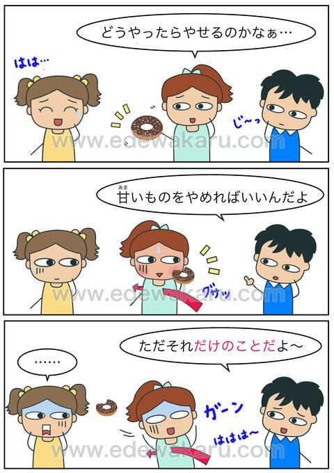 blogだけのことだ(強調)