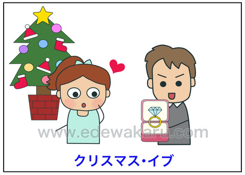 blogクリスマスイブ