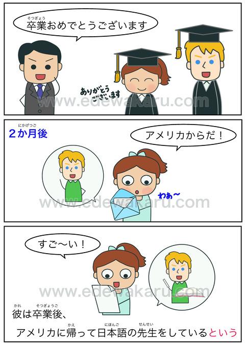 blogという(伝聞)