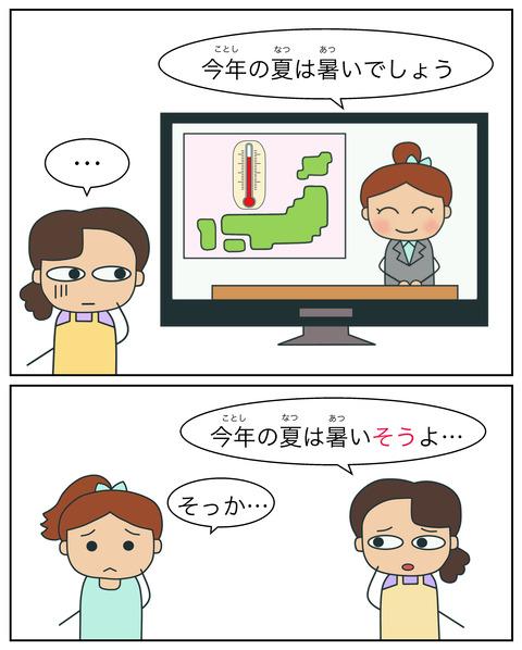 blogそうだ(伝聞)