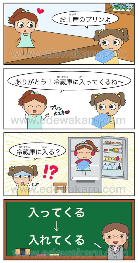 blog冷蔵庫に入ってくる
