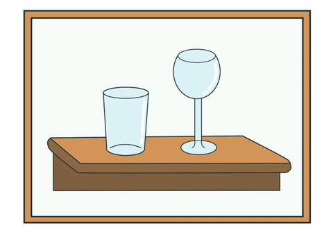 blogグラスとガラス