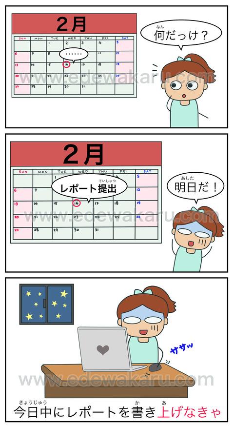 blog上げる