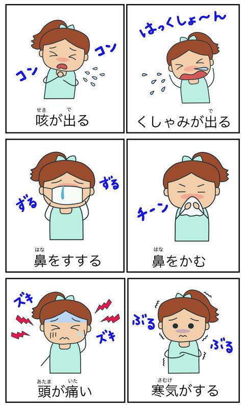 blog病気擬音語