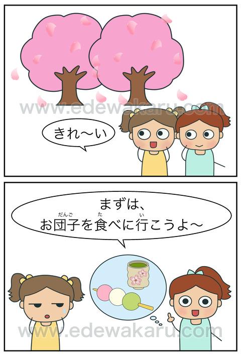 blog花より団子①