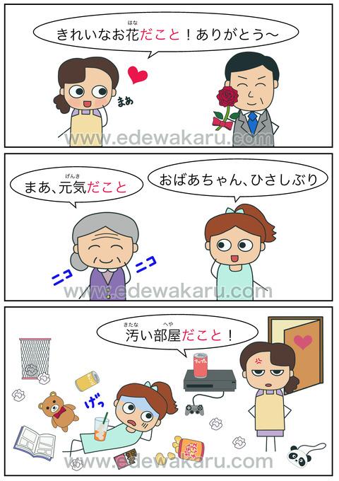 blogだこと!