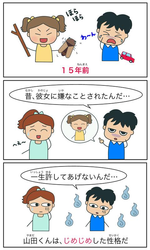 blogじめじめ(性格)