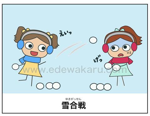 blog雪合戦