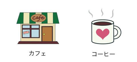 blogカフェvsコーヒー