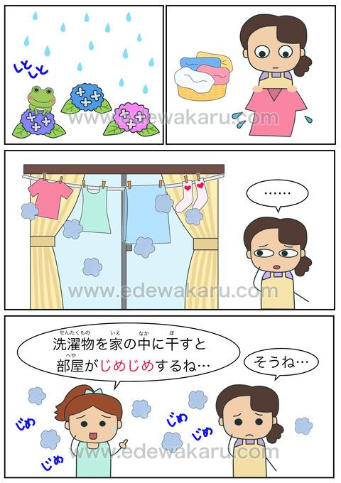 blogじめじめ(湿気)