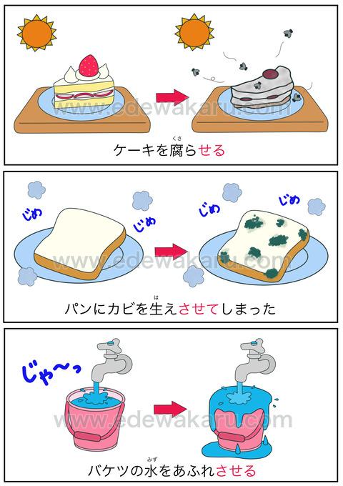 blog使役形(放置)
