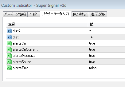 Super Signal v3d : MT4 インジケーター倉庫クラウド館