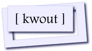kwoutロゴ