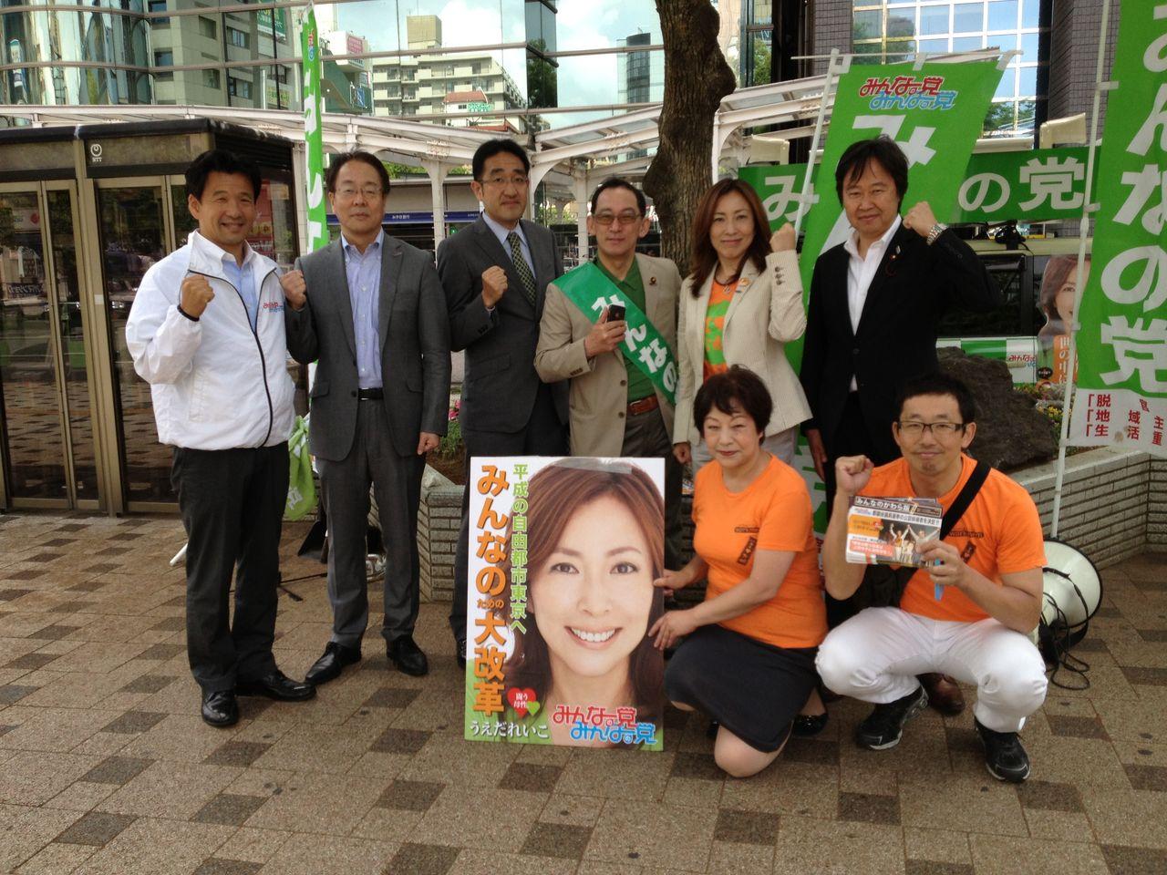 067 今週28日に、みんなの党の地方議員勉強会がありました。みんなの党の真骨... 東京都議会