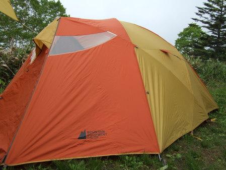 MECのテント