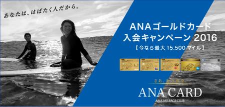 ANAゴールドキャンペーン