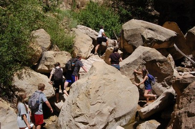 Box canyon hike