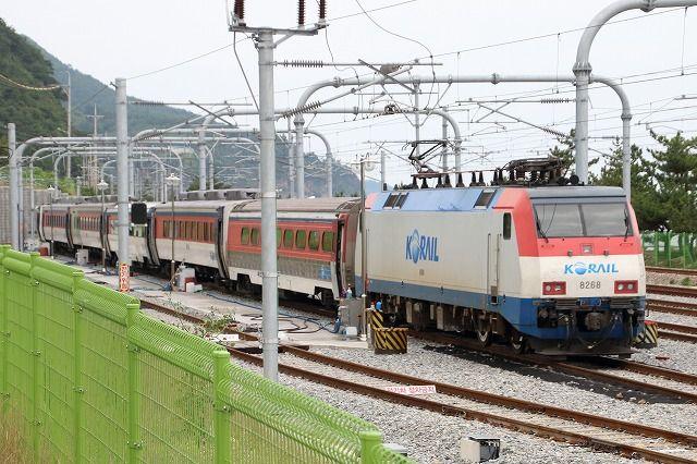KORAIL 嶺東線「海列車」 : 写メ鉄