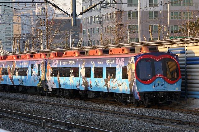 写メ鉄:韓国の客車ジョイフルト...