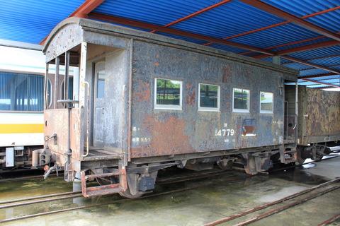 保存貨車 ヨ3500形ヨ4779 : 輝か...