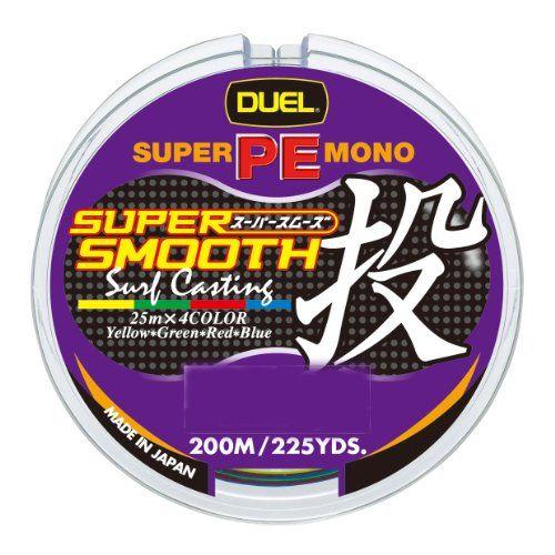 デュエル(DUEL) SUPER SMOOTH 投げ 200M 1.5号
