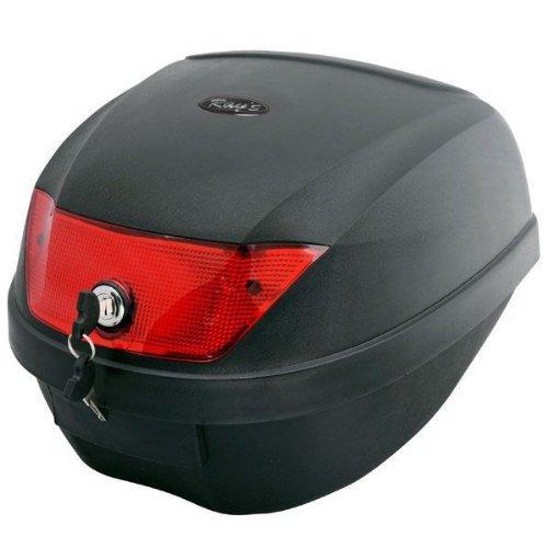 【リアボックス】28L バイクショップが使用している 脱着可能で 簡単装着 !! リアボックス