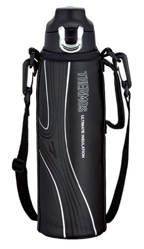THERMOS 真空断熱スポーツボトル 1.0L ブラック FFF-1000F BK