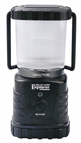 GENTOS(ジェントス) LEDランタン エクスプローラー プロフェッショナル 【明るさ280ルーメン/連続点灯72時間】 EX-777XP