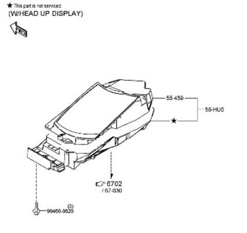 BF Mazda 3 HUD