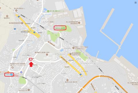長浦港俯瞰