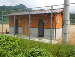 川内運動場トイレ完成