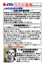 ちえみ通信平成23年冬号♪