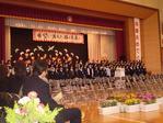 川上小の卒業式2009.03.24