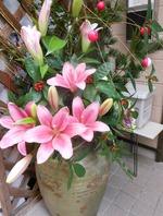 2015,1月 正月の花