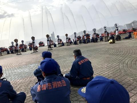 2018-01-07 消防団 出初式