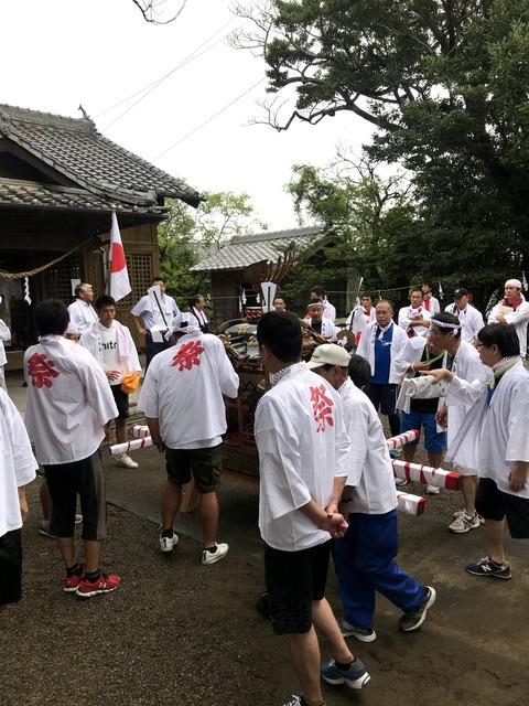 2018-8-19 原神社祭