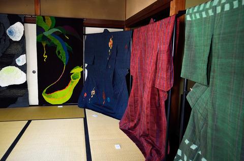 長期滞在型アート展(春日神社)