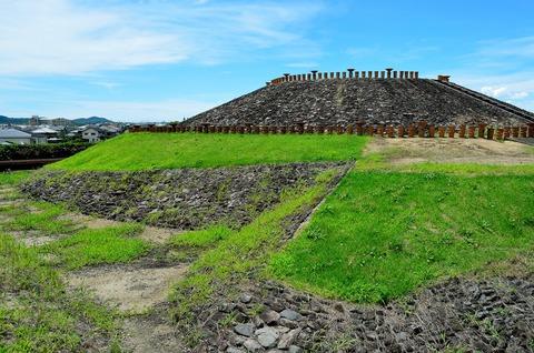 三吉石塚古墳 前方部南東隅部の張出部