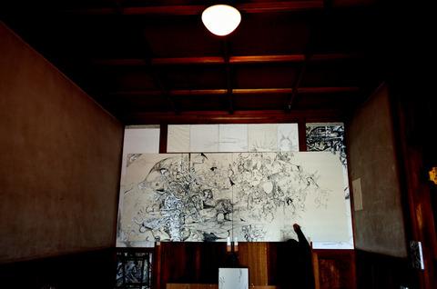 自主企画現代アート展(JR畝傍駅 貴賓室)